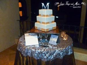 Wedding Cake table design Villa De Los Suenos Pedregal