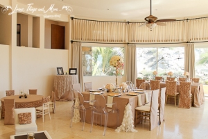 High end wedding decor in Villa