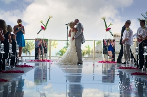 High end ceremony decor by Cabo Floral Design