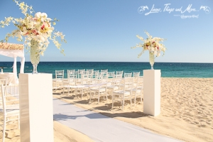 High end wedding floral Design Los Cabos