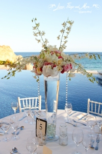 Cabo floral design center pieces