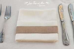 Custom napkin band