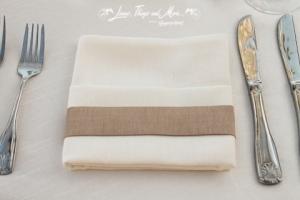 Custom napkin band