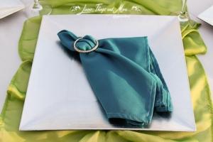 Cabo teal napkin