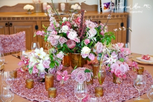High end wedding floral design by Pina Cabo