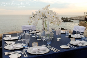 High end wedding floral design in Cabo