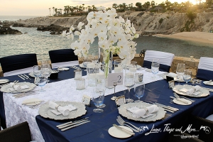 High end bride and groom table Cabo