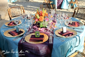 RIU Los Cabos bright party color decor