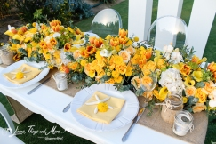Flora Farm high end wedding and event set-up Los Cabos