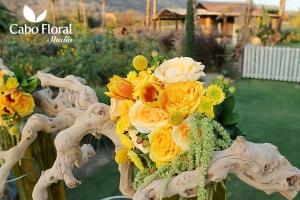 Unique flower design by Cabo Floral Studio