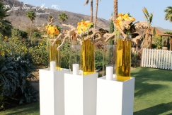 High end floral decor and design by Cabo Floral Studio