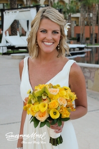 Wedding hair and make-up by Suzanne Morel - Hilton Los Cabos