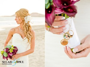 Wedding hair and make-up by Suzanne Morel Cabo