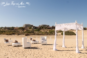 High end wedding design by Suzanne Morel at Sheraton Los Cabos