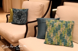 Decorative pillows for private party Los Cabos