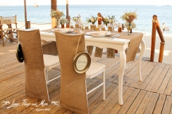 Nikki beach intimate and rustic wedding decor Los Cabos