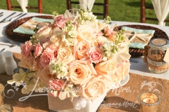 High end flower design wedding Hilton Los Cabos