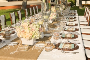 Hilton Los Cabos vintage high end wedding design