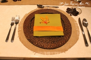 Burlap wicker and fall private party design Cabo