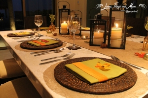 Cabo Thanksgiving dinner design by Suzanne Morel