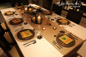 Cabo private  party and event design - Thanksgiving
