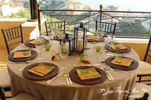 Celebration decor - Thanksgiving in Cabo