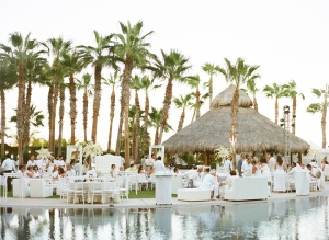 Hilton Los Cabos elegant wedding design