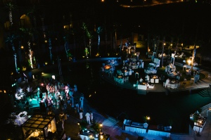 Cabo wedding and event decor design at the Hilton