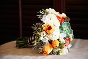 Villa Bellissima wedding decor bride flowers Los Cabos
