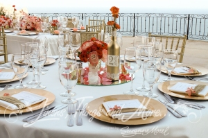 Unique & Elegant wedding design and flowers Los Cabos Pedregal