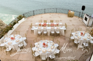 Villa Grande pedregal wedding decor Cabo