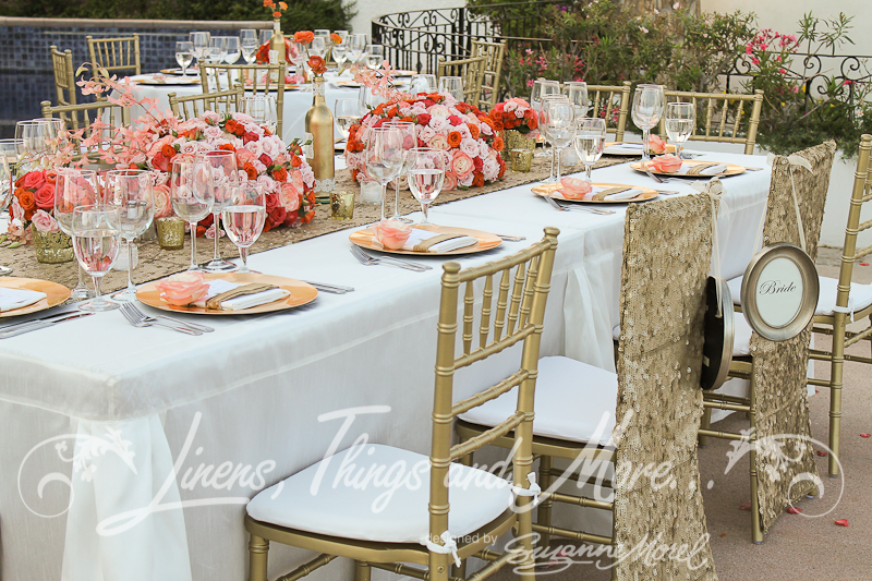 Coral And Gold Wedding Theme Choice Image - Wedding Decoration Ideas