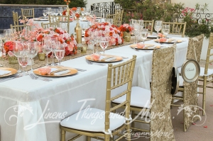 High end wedding decor Cabo San Lucas Villa