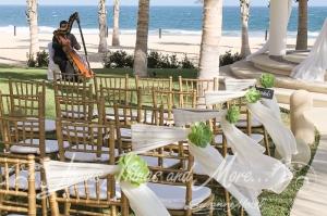 Gazebo Wedding ceremony Barcelo Cabo