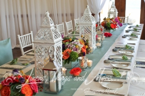 Unique high end wedding decor and rental Cabo Mexican style