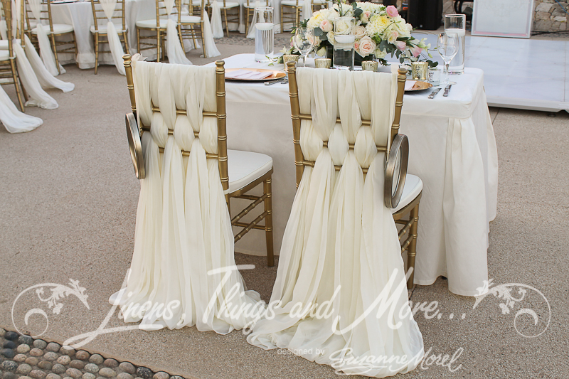 Blue White And Gold Wedding Decor : Chic romantic blush gold wedding d?cor at the fiesta