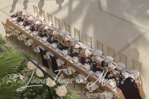Romantic head table Hyatt Los Cabos
