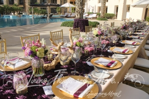 Baja Bar Adult Pool Hyatt wedding decor by Linens, Things and More