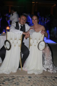 Happy Couple wedding decor testimonial Fiesta Americana Cabo