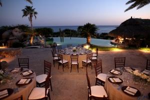 Corporate and private event decors in Villa Vista Ballena Cabo