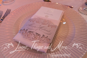 Exclusive wedding stationnaries Ceci Johnson for Matthew Robbins Cabo wedding design