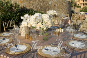 Pina Hernandez high end floral design Wedding Orchid Esperanza Resort