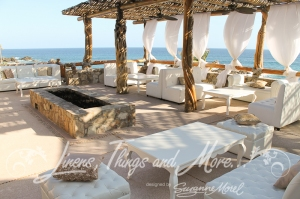High end lounge set-up Esperanza Cabo