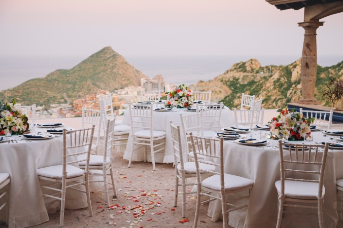Villa Wedding decor and rental Cabo San Lucas Pedregal