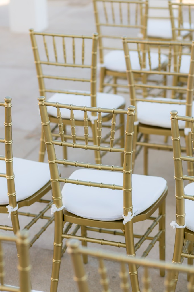 Cabo wedding chair rental