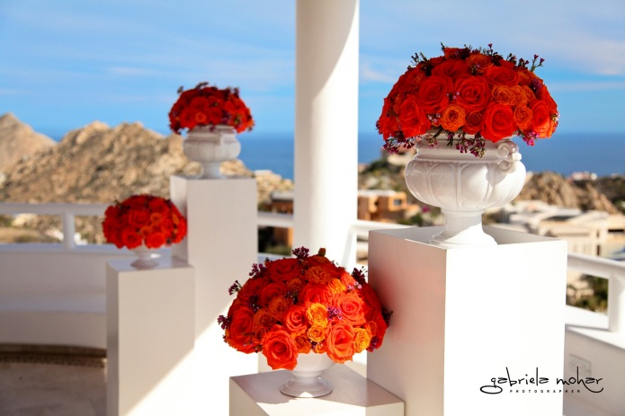 Cabo wedding flowers