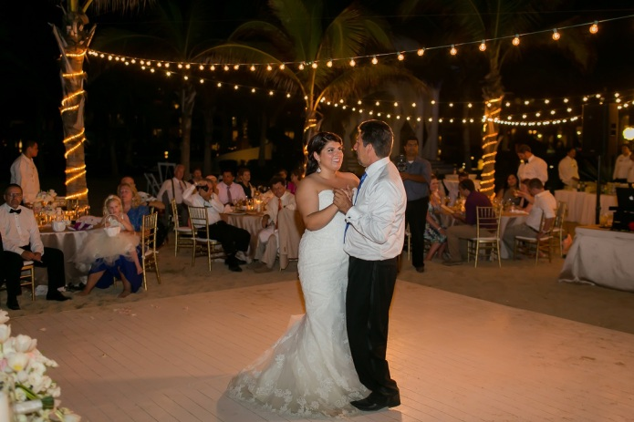 cabo beach wedding reception