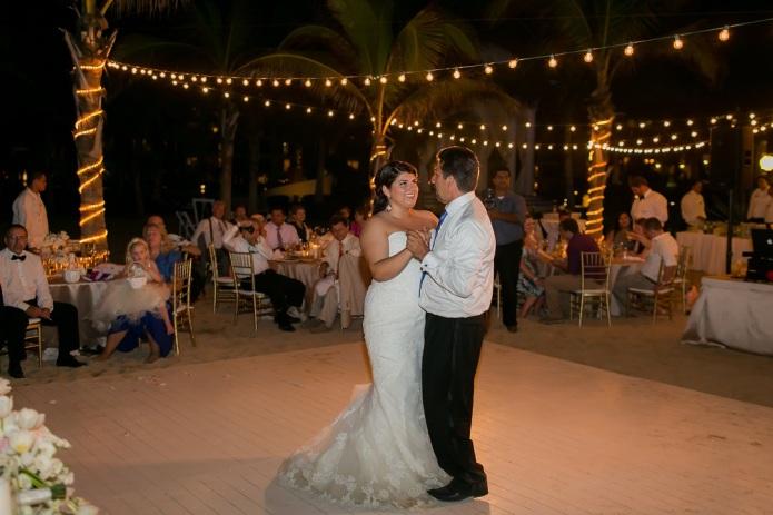 cabo beach wedding reception