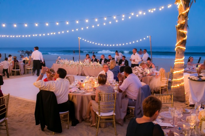 cabo wedding reception
