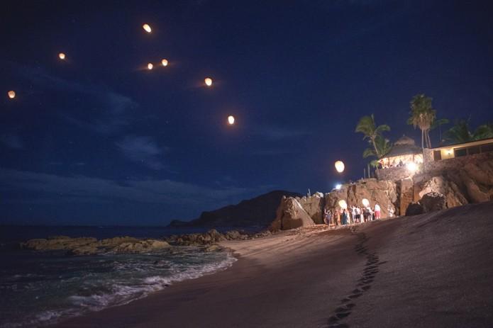 Cabo wishing lantern